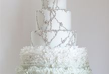 Wedding cake winter - Hochzeitstorten winter