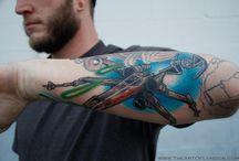 tattoos / by Douglas Halfmoon