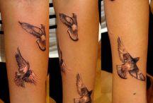 tattoo pigeon