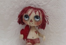 cloth art doll / by Handmade *dolls*