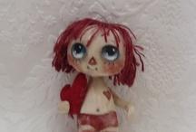 cloth art doll / by Handmade *dolls*