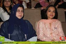 Breast Cancer Awareness Seminar, 2013 / UOL Health Care Society & Student Representative Office (SRO) at The University of Lahore (UOL) organized breast cancer awareness seminar on 28th of October, 2013 in collaboration with Shaukat Khanum Memorial Cancer Hospital & Research Centre to create awareness among students about the disease. Ms. Amina Sheikh was the chief guest on the occasion.  Experts highlighted the importance of early diagnosis and proper treatment of this disease to save womenfolk from future complications.