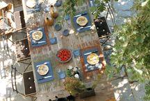 Le plaisir de la table  /  « Le plaisir de la table est de tous les âges, de toutes les conditions, de tous les pays et de tous les jours.  » (Anthelme Brillat-Savarin, La psychologie du goût)