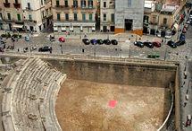 Roman Lecce, Italy