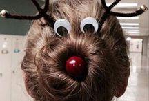 hairs christmas