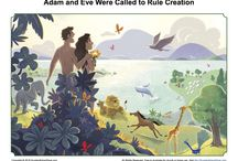 Adam and Eve Were Called to Rule Creation Bible Activities / According to Genesis 1:26-28, God created Adam and Eve and gave them the assignment to rule over His creation. These Bible activities for children will help them see that God put people in charge of creation and encourage kids to seek God's purposes for their lives.