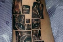 tattoo on foot