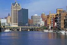 My hometown Milwaukee,WI / All things Milwaukee, WI / by Alicia Renee