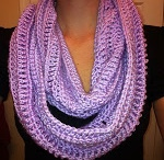 The icing on the cake crochet scarf