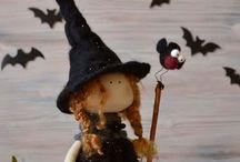 Halloween / Aplicación de pasamanería y cordones