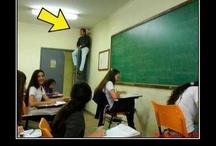 na escola