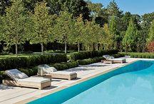 Hamptons Gardens and Pool Areas