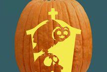 Numbskulls Pumpkin Carving Patterns / Shake, rattle and roll dem Halloween bones!