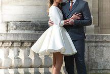 Wedding dress --- civil