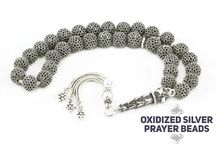 Silver Prayer Beads / Silver selection is made of 925k Sterling Silver prayer beads. Silver harmonizes emotional, mental and physical conditions.