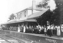 Trains near Cardiff,Australia