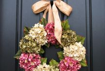 Wreaths for the front door