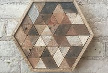 Drewniane mozaiki
