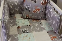 Woodland Pals / Our ever popular Woodlands theme with the gorgeous Buck head fabric and Woodlands Pals bears, foxes and deer.