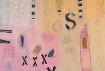 New smaller affordable abstract paintings by Susan Hargrove