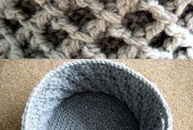 Crochet Baskets & Containers