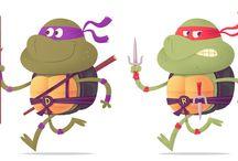 Ninja turtles!!
