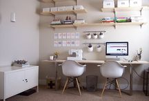 interior - home office/work space