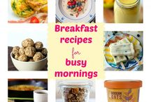 healthy, quick breakfasts