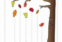 activity sheets - autumn