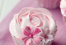 Cup cakes decor