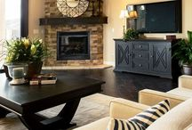 fireplaces / by Jackie Zoesch