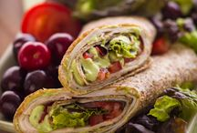 sandwiches and wraps / by Leslie Jones