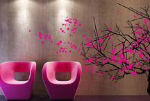 Tree wall decals / An unique selection of removable vinyl tree wall decals.  / by DezignWitha Z