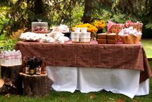 Fantastic Mr. Fox Birthday Party / Fall feast inspired birthday party