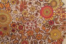 Floresta encantada / Flores e folhas