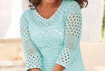 I love crochet tops / by Lisa Bartley
