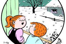 Family circus cartoons / by Nancy W.