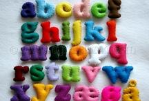 Quiet book alphabet * Spielbuch Alphabet
