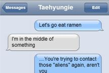 Bts texting