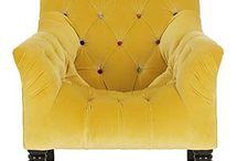 I love pretty armchairs! / by Harper