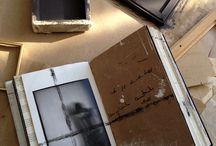 cahiers, sketchbooks.....