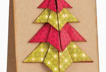 Tea bag folded cards / Folded paper