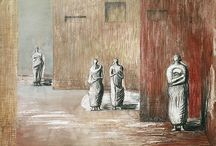 Henry Moore - Desenho /Drawing / Henry Moore (British, 1898 - 1986)