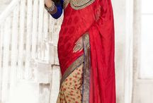 Designer sarees / Shop online for Latest Designer Indian Wedding Sarees,New Arrival georgette Sarees,Party Wear sarees,Bridal Sarees,Art Silk Sarees,Georgette saree,Latest Designer sarees online for women at Andaaz Fashion http://www.andaazfashion.fr/womens/sarees