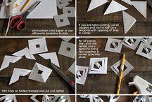 Бумажный декор