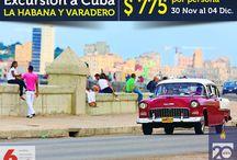 Excursión a Cuba - La Habana y Varadero / EXCURSION A CUBA - La Habana y Varadero Saliendo el 30 Noviembre y Regresando el 04 Diciembre  Tarifa de $775 por persona en habitación doble o triple RESERVA YA con $150 - Paga a 6 cuotas mensuales de $129 con Credix  Envíenos su teléfono y correo electrónico por mensaje privado para consultas e inicio de la reserva, o bien puede llamarnos al 4200-3990 y con gusto le atenderemos.