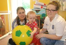 The World Cup! / Celebrating sporting events with our KC little ones!