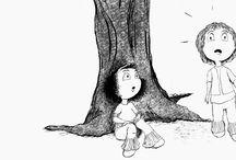 Sofia e Vitória / Ilustrações e imagens das suas histórias