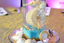 Seahorses and pearls for our little girl