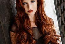 Haarfarbe Kupfer